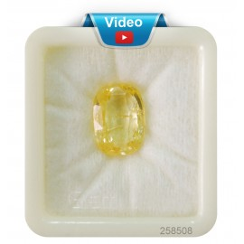 Yellow Sapphire Sup-Pre 16+ 9.6ct