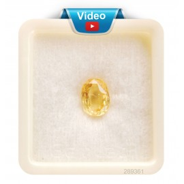 Yellow Sapphire Sup-Pre 5+ 3.2ct