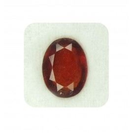 Hessonite Gomed Gemstone Fine 7+ 4.45ct