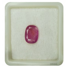 Burma Ruby Gemstone Sup-Pre 5+ 3.15ct