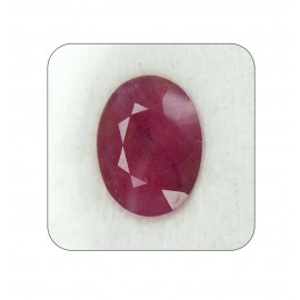 Ruby Manik Gemstone Fine 9+ 5.45ct